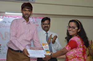 Best Out going Student CSE (Miss. Namrata Pai)