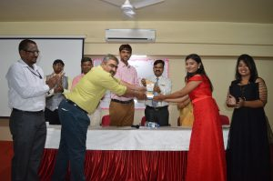 Best outgoing of the Institute & Civil Dept (Miss. Sayali Jadhav)