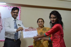 Best Academic Award (Miss. Sneha Saba)