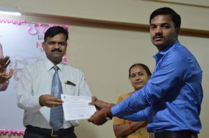 Best Technocrat of Institute (Mr. Nitin Gaikwad)