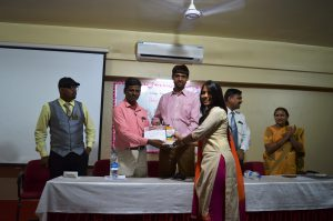 Best attentive award  (Miss. Shreya Dhumal)