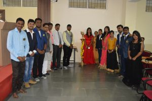Inaguration by Student Council Members